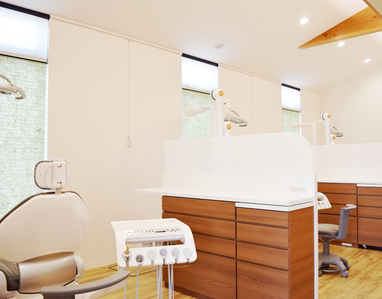 広々とした診療室